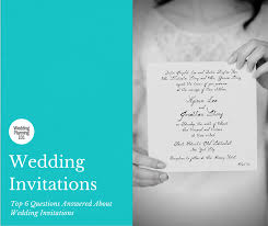 wedding invitations questions top 6 questions answered about wedding invitations distinctly