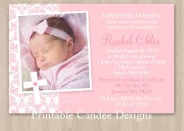 Birthday Invitation Card Maker Baby Baptism Invitations Baptism Invitations Pinterest
