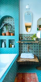 turquoise tile bathroom 7 unique places to add pattern color to your home teal