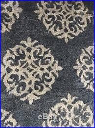 Pottery Barn Scroll Rug 1199 Pottery Barn Empire Scroll Hand Tufted Wool Rug Indigo 9 U0027 X 12