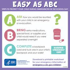 Emergency Preparedness Worksheet Easy As Abc Infographic From The Cdc Ways You Can Protect Your