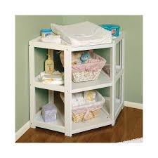 badger basket sleigh her changing table corner changing table this actually makes more sense because it is