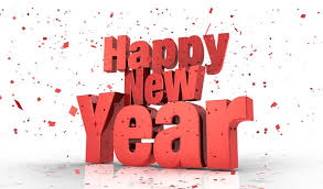 new year email stationery stationary 3d text happy new year