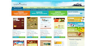 templates for professional website professional web marketing template designs from template kingdom