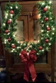 horseshoe wreath horseshoe christmas wreath sanjonmotel