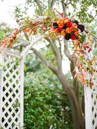 wedding arches decorated with flowers how to decorate a wedding trellis oshiro