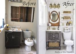 small bathroom decor ideas pictures this tiny bathroom got a big ol countrified makeover tiny