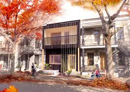 Row Home Design News by Students Receive 50k From Ottawa For Innovative Urban Green