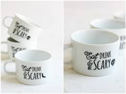 diy halloween mugs eighteen25