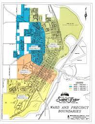 Minnesota Zip Code Map by Where Do I Vote City Of Saint Peter Minnesota