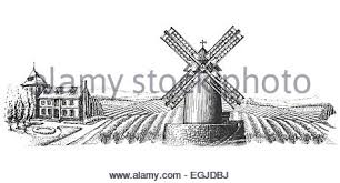 windmill sketch stock vector art u0026 illustration vector image