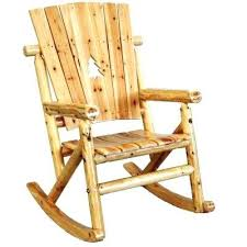 unfinished patio furniture aspen wood patio rocking chair with pine