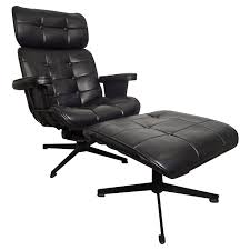 Leopard Print Swivel Chair Furniture Black Leather Swivel And Adjustable Chair With Back And