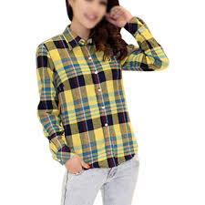 Plaids Popular Womens Plaid Flannel Shirt Buy Cheap Womens Plaid Flannel