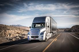 peugeot partner finally caught getting the first self driving truck takes to the streets of nevada