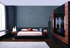 Black Bedroom Furniture Set Modern Black Lacquer Bed