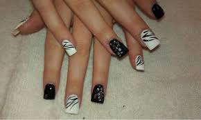 image of classy gel nail designs nail art christmas diy idea