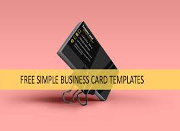 inspirational business cards free simple business card templates free business card download