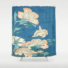 Oriental Shower Curtains Best Japanese Shower Curtain Products On Wanelo