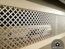 Decorative Radiator Covers Home Depot by Decorative Sheet Metal That I Found At Lowes For 25 I Need