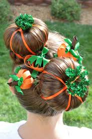orange halloween ribbon background princess piggies halloween hairdos pumpkin patch