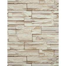 strippable vinyl stone brick and wood wallpaper wallpaper