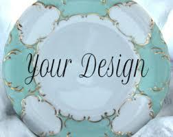 monogrammed platter wedding plate etsy