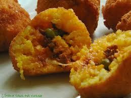 cuisine sicilienne arancini recette des arancini siciliens l italie dans ma cuisine