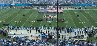Carolina Panthers Flags All Carolina Panthers Stand But At Least 100 Nfl Players Kneel Or
