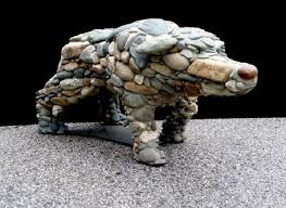 guard dog statue 12 awesome rock cairn sculptures that take to a whole