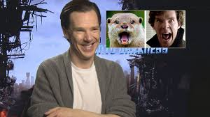 Cumberbatch Meme - benedict cumberbatch talks about his otter meme youtube
