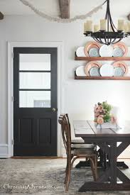 Modern Dining Room Colors Our House Modern Farmhouse Paint Colors Christinas Adventures