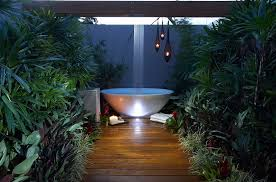 Outdoors Shower - beautiful outdoor bathrooms home decoratings and diy