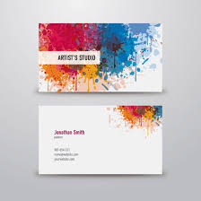 template business card cdr download business card designs for free colourful and abstract