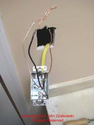 photos depicting the installation of a metal electrical receptacle