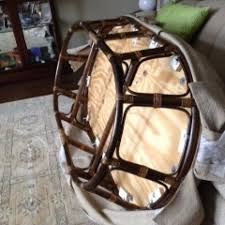 Papasan Ottoman Trash To Ottoman From Papasan Chair Hometalk