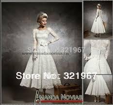 tea length wedding dresses with sleeves for sale wedding dresses