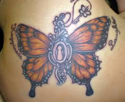 diselfcore monarch butterfly tattoos