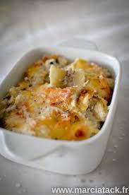 comment cuisiner les cardons gratin de cardons aux truffes recette marcia tack