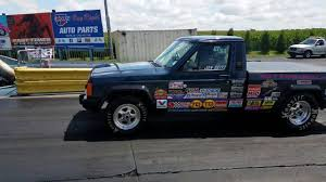 1988 jeep comanche jeep comanche drag truck 4 0 inline 6 youtube
