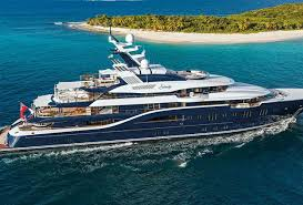 most expensive boat in the world meet the 279 foot long solandge the largest yacht on display at