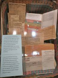 wwii ration cards resistance museum amsterdam