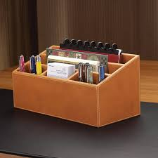 Leather Desk Organizer Set Leather Desk Organizer Set All Home Ideas And Decor For