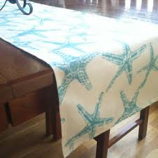 Nautical Table Decorations Beach Decor Table Runners Tidal Treasures