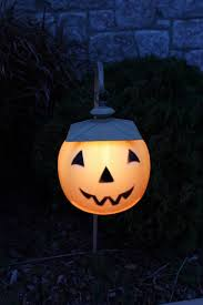 jack o lantern walkway lights