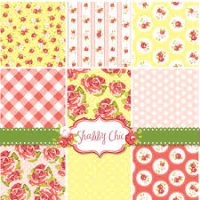 Shabby Chic Rose by Shabby Chic Rose Patterns And Seamless Backgrounds Ideal For