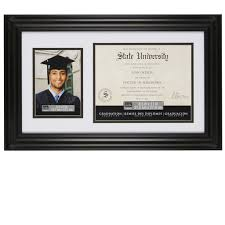 graduation frames with tassel holder black document photo frame 8 5 x 11 5 x 7 by studio décor