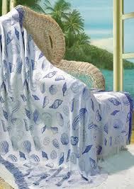 themed throw blanket throw blankets seashell throw blanket