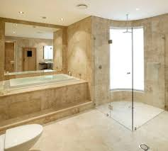 Closet Bathroom Ideas Bathroom Design Decor Travertine Bathroom Ideas With Wall Glass
