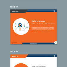 create a powerpoint template for a cutting edge digital marketing